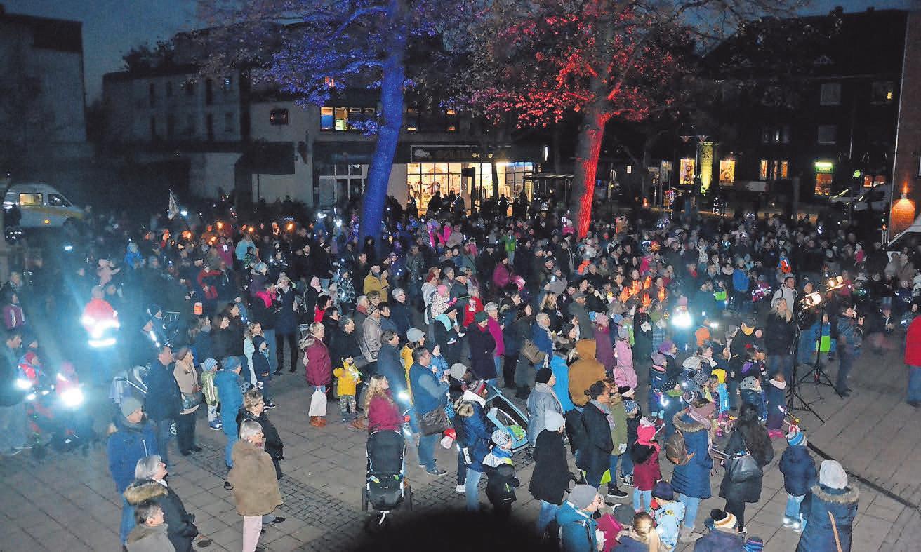 Im November lockt das Lichtermeer die Besucher nach Seelze