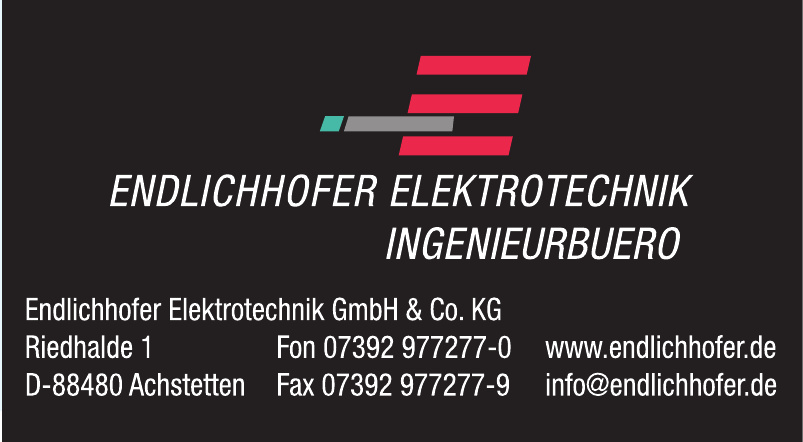 Endlichhofer Elektrotechnik GmbH & Co. KG