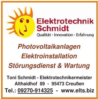 Elektrotechnik Schmidt