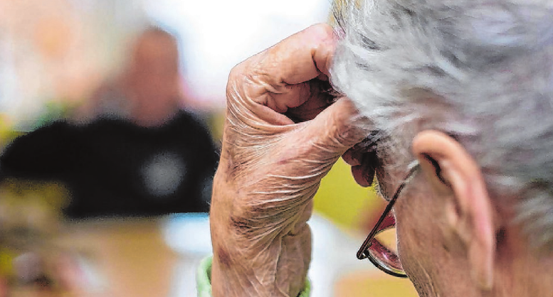 Die Pflegeversicherung sollte neu justiert werden. Foto:Archiv