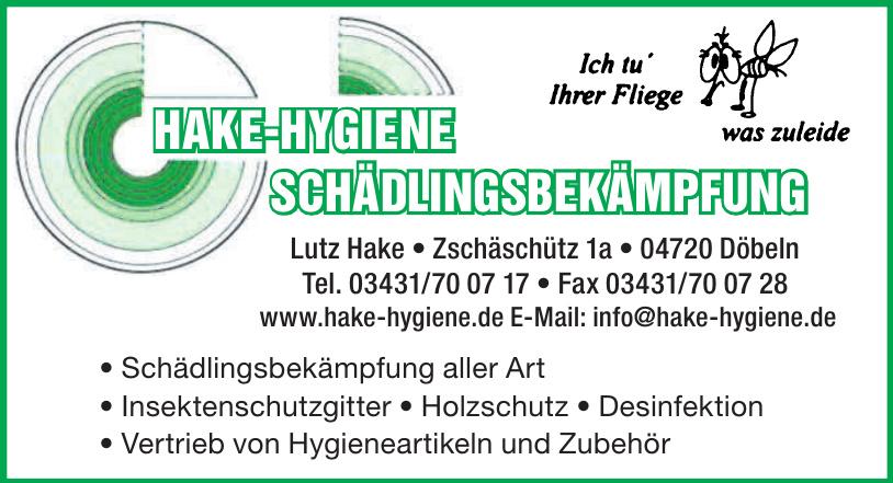 Hage-Hygiene