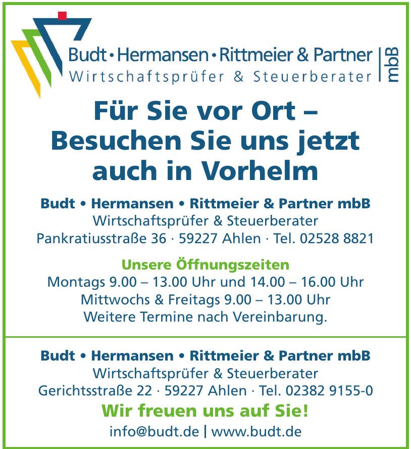 Budt · Hermansen · Rittmeier & Partner mbB