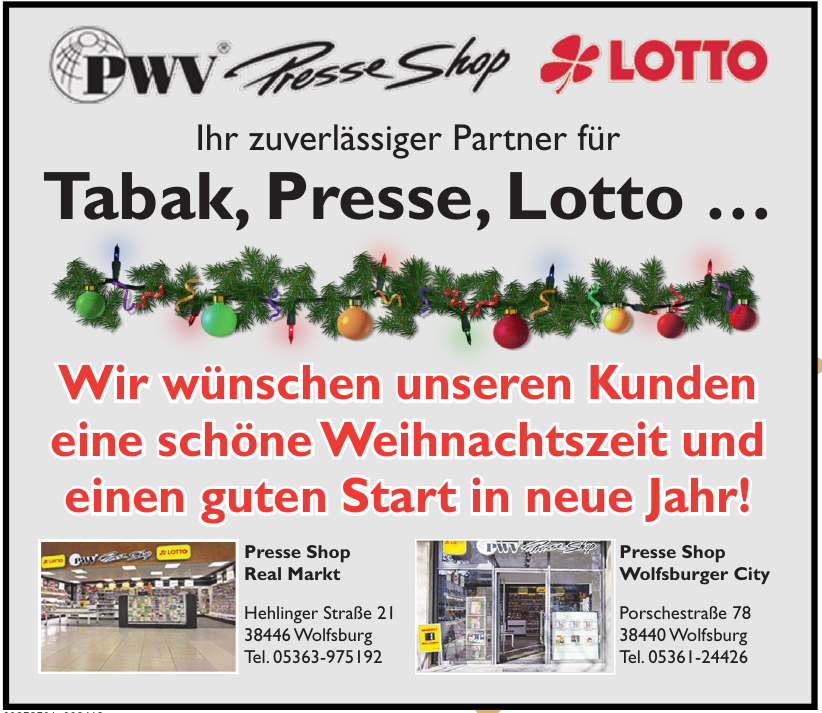 PWV Presse Shop Lotto
