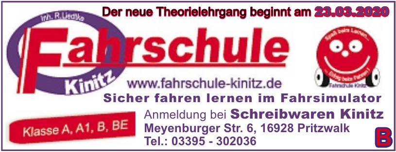 Fahrschule Kinitz