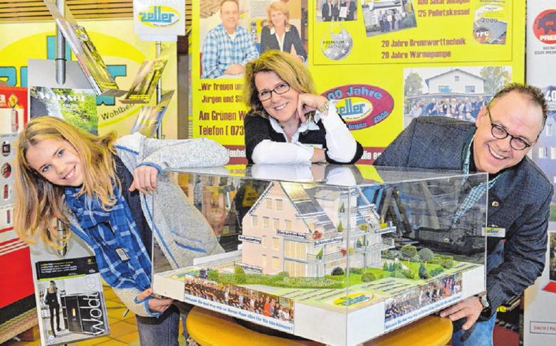 Die Firma Zeller Heizung, Sanitär, Dächer zählt zum festen Ausstellerstamm beim ImmobilienForum.