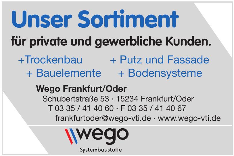 Wego Frankfurt/Oder