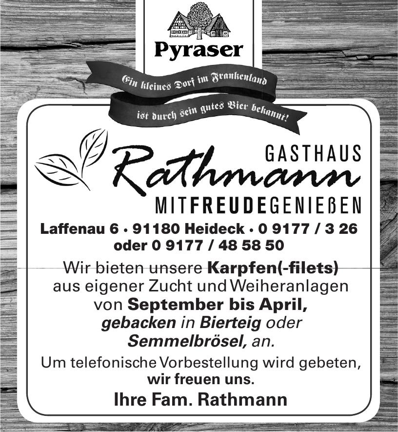 Pyraser - Gasthaus Rathmann