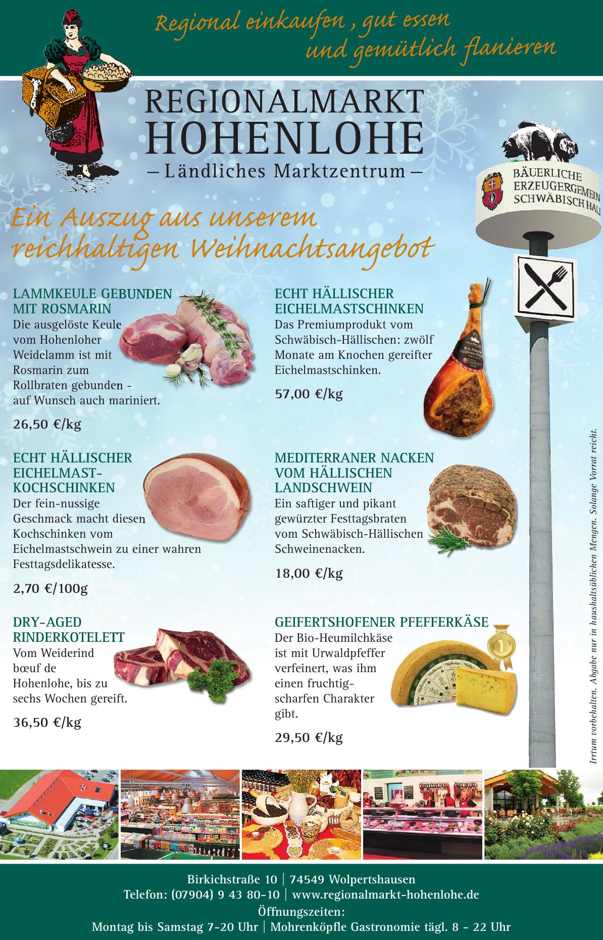 Regionalmarkt Hohenlohe