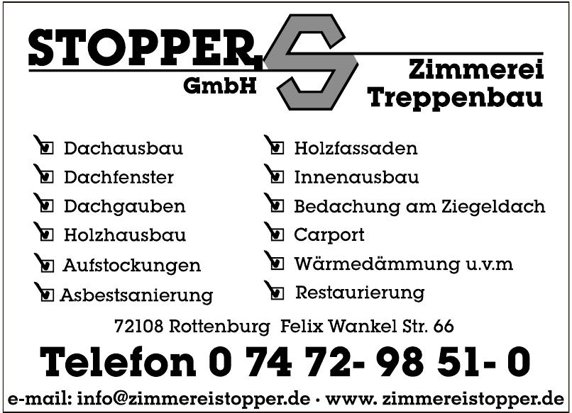 Stopper GmbH Zimmerei, Treppenbau