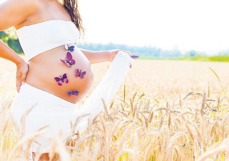 Glücksgefühl: Baby im Bauch.FOTO: HETIZIA/STOCK.ADOBE.COM