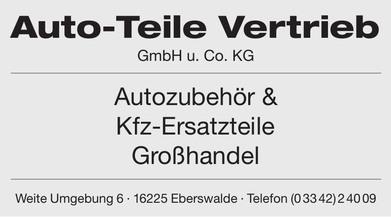 Auto-Teile Vertrieb GmbH u. Co. KG