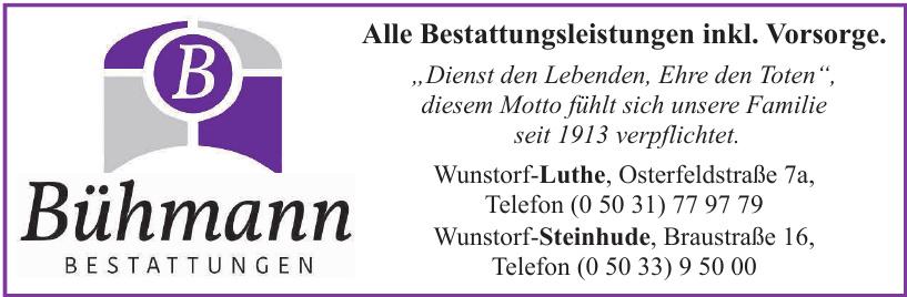 Bestattungen Bühmann e.K.