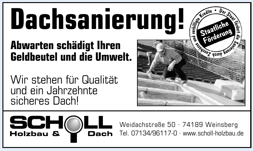 Scholl Holzbau & Dach