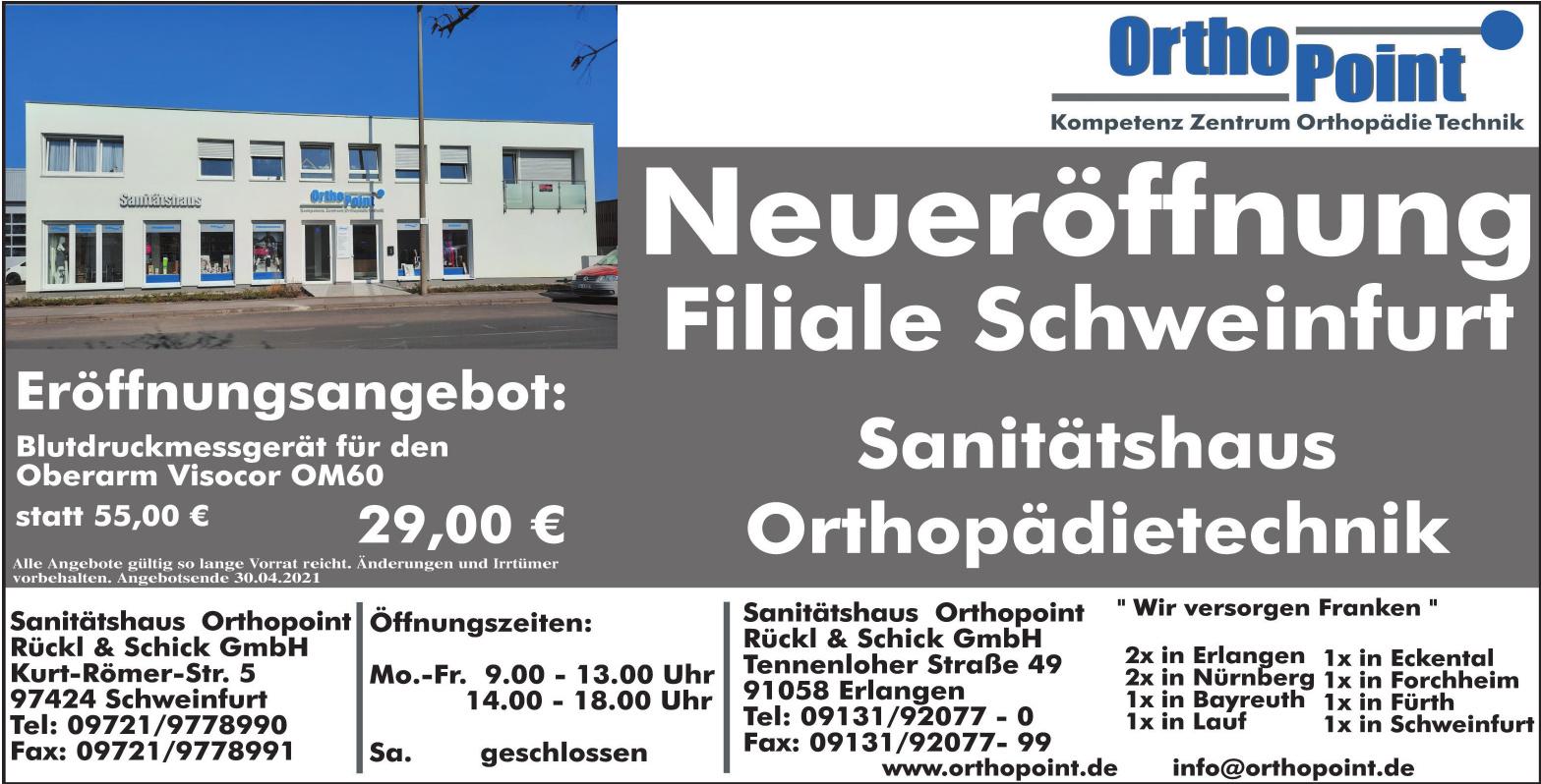 Sanitätshaus Orthopoint Rückl & Schick GmbH