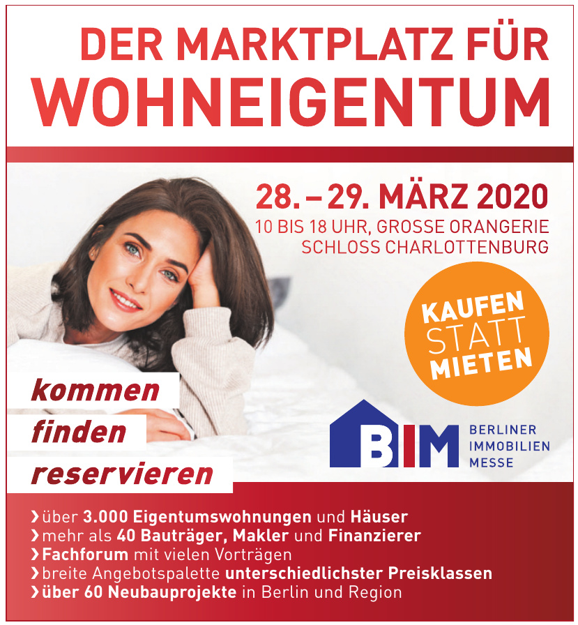 BIM Berliner Immobilien Messe