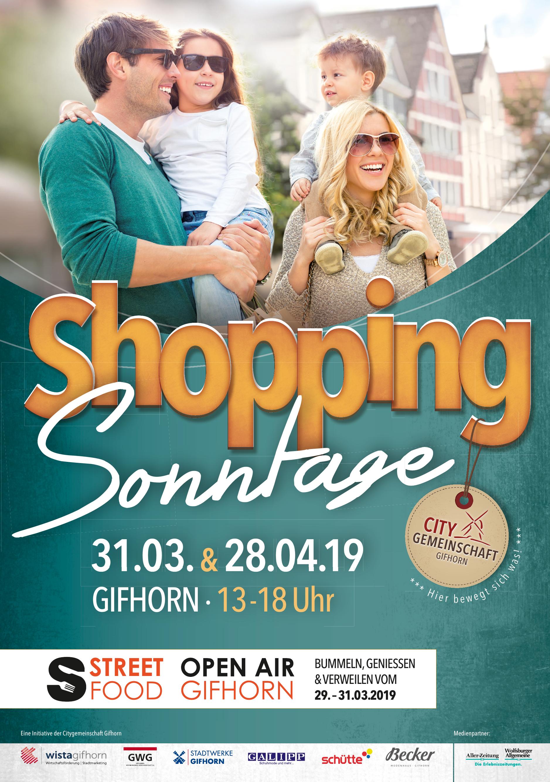 Shopping Sonntage