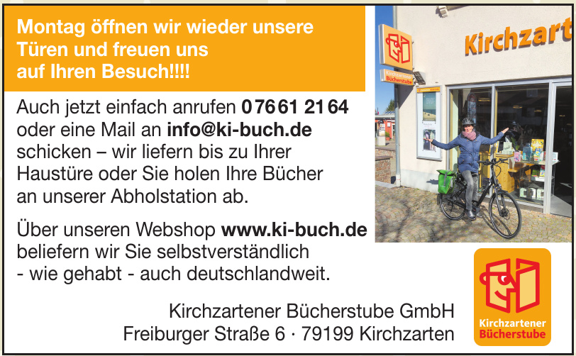 Kirchzartener Bücherstube GmbH