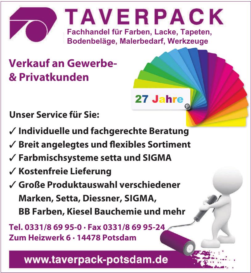 Taverpack Farbenfachhandel