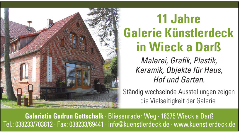 Galeristin Gudrun Gottschalk