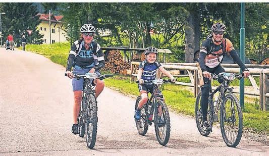 Familien erwarten ein eigener Routenvorschlag und ein tolles Kinderprogramm.