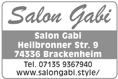 Salon Gabi