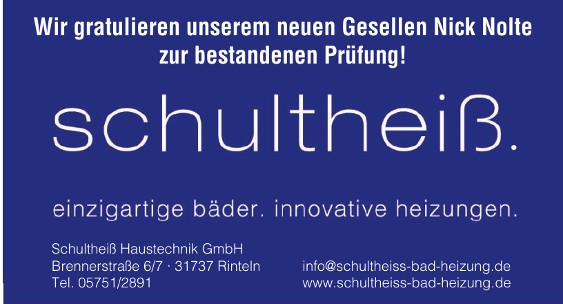 Schultheiß Haustechnik GmbH