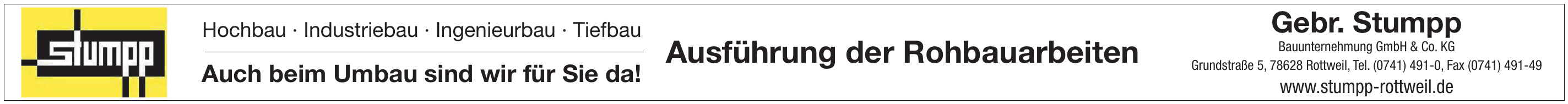 Gebr. Stumpp Bauunternehmung GmbH & Co. KG