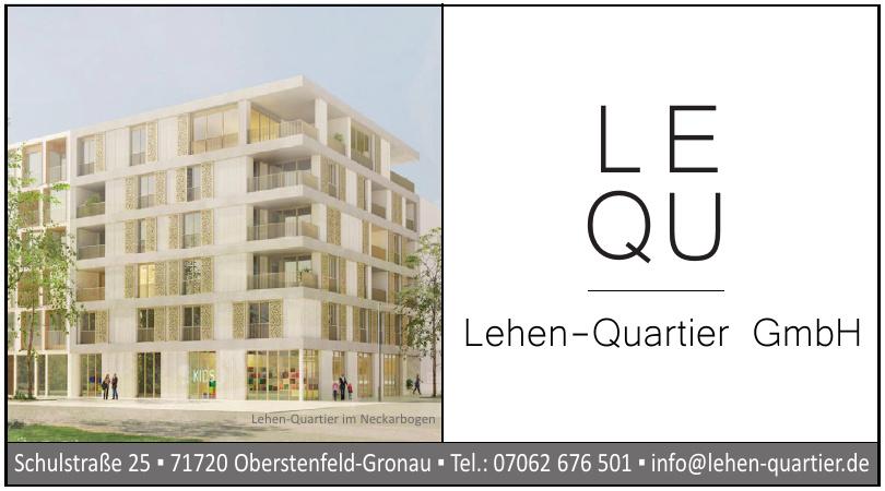 Lehen-Quartier GmbH