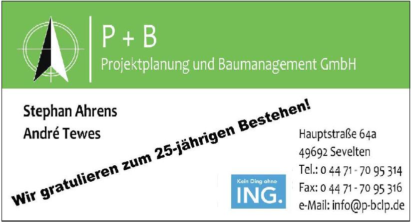 P+B Projektplanung und Baumanagement GmbH