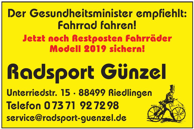 Radsport Günzel