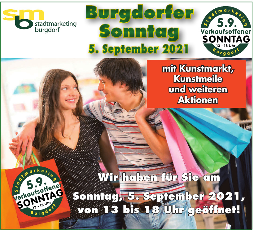 sbm Stadtmarketing Burgdorf