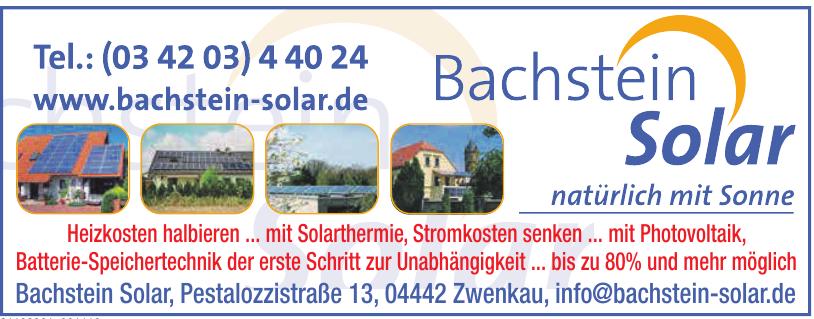 Bachstein Solar