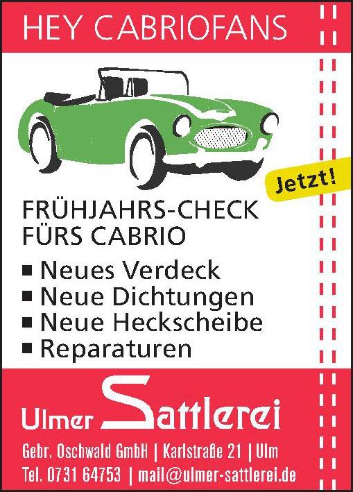Ulmer Sattlerei Gebr. Oschwald GmbH