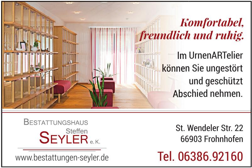 Bestattungen Steffen Seyler e.K.