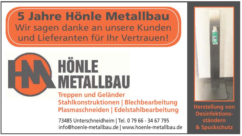 Hönle Metallbau