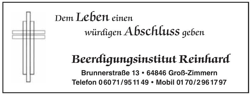 Beerdigungsinstitut Reinhard