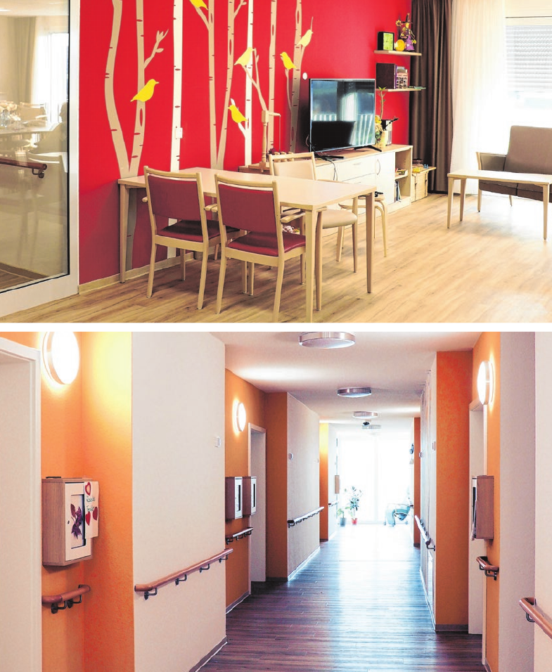 Freundlich, hell und modern - so präsentieren sich die neuen Pflegeeinrichtungen der Vinzenz von Paul gGmbH.