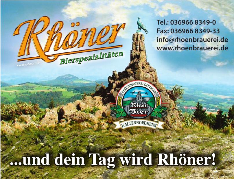 Rhönbrauerei Dittmar GmbH