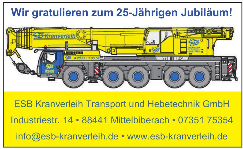 ESB Kranverleih Transport und Hebetechnik GmbH