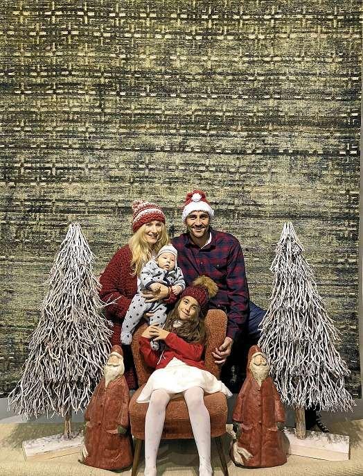 Familie Fazel wünscht allen Lesern eine besinnliche Weihnachtszeit. FOTO: HFR