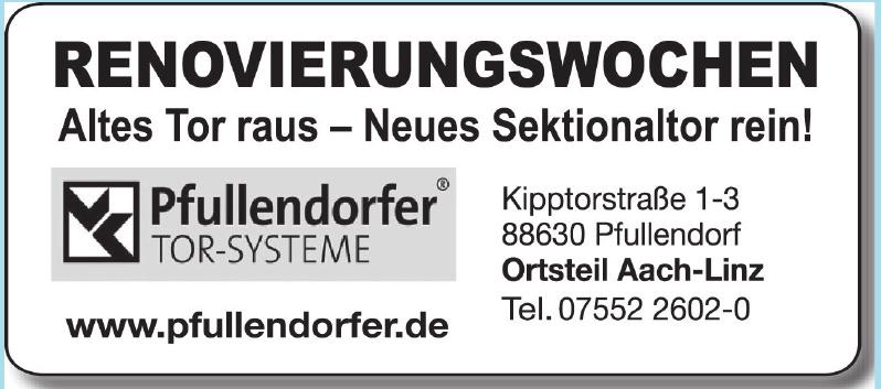 Pfulendorfer Tor-Systeme Stephan Zimmerer