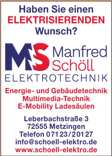 MS Manfred Schöll Elektrotechnik