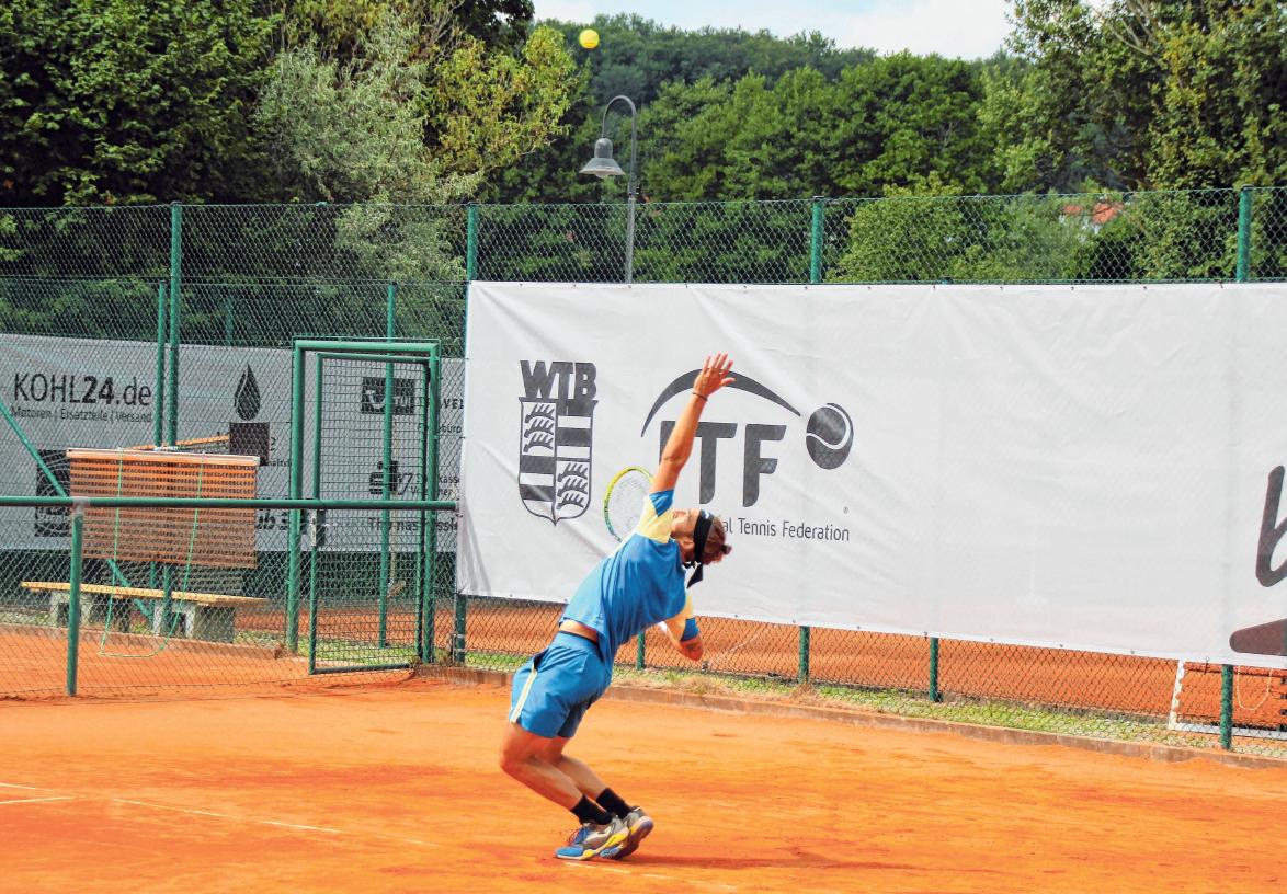 Vorjahresfinalist Mario Villela Martinéz aus Spanien.