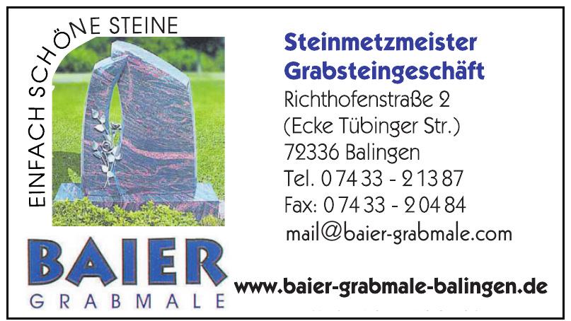 Baier Grabmale