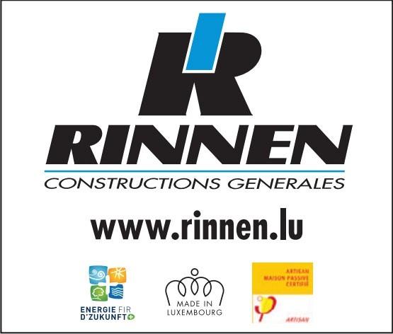 Rinnen Constructions Generales