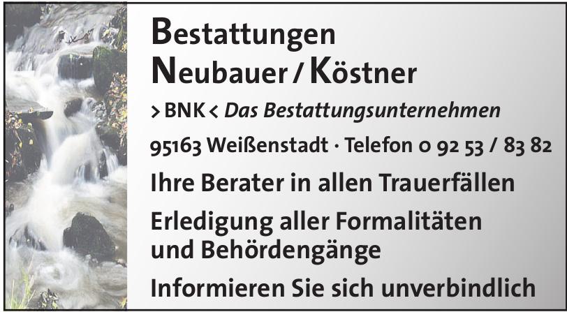 >BNK< Das Bestattungsunternehmen