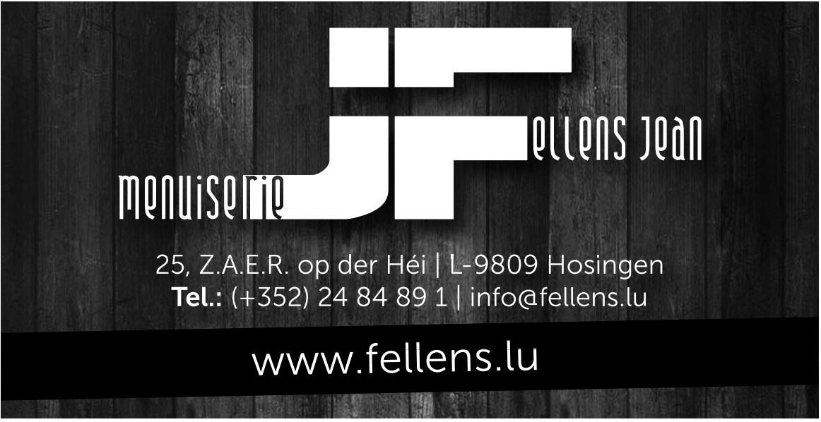 Menuiserie Fellens Jean