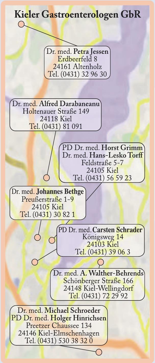 Bildquellen: Kieler Gastroenterologen GbR