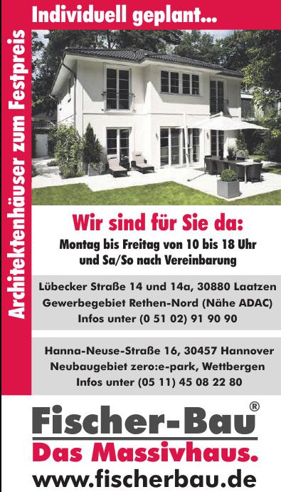 Fischer-Bau Das Massivhaus.
