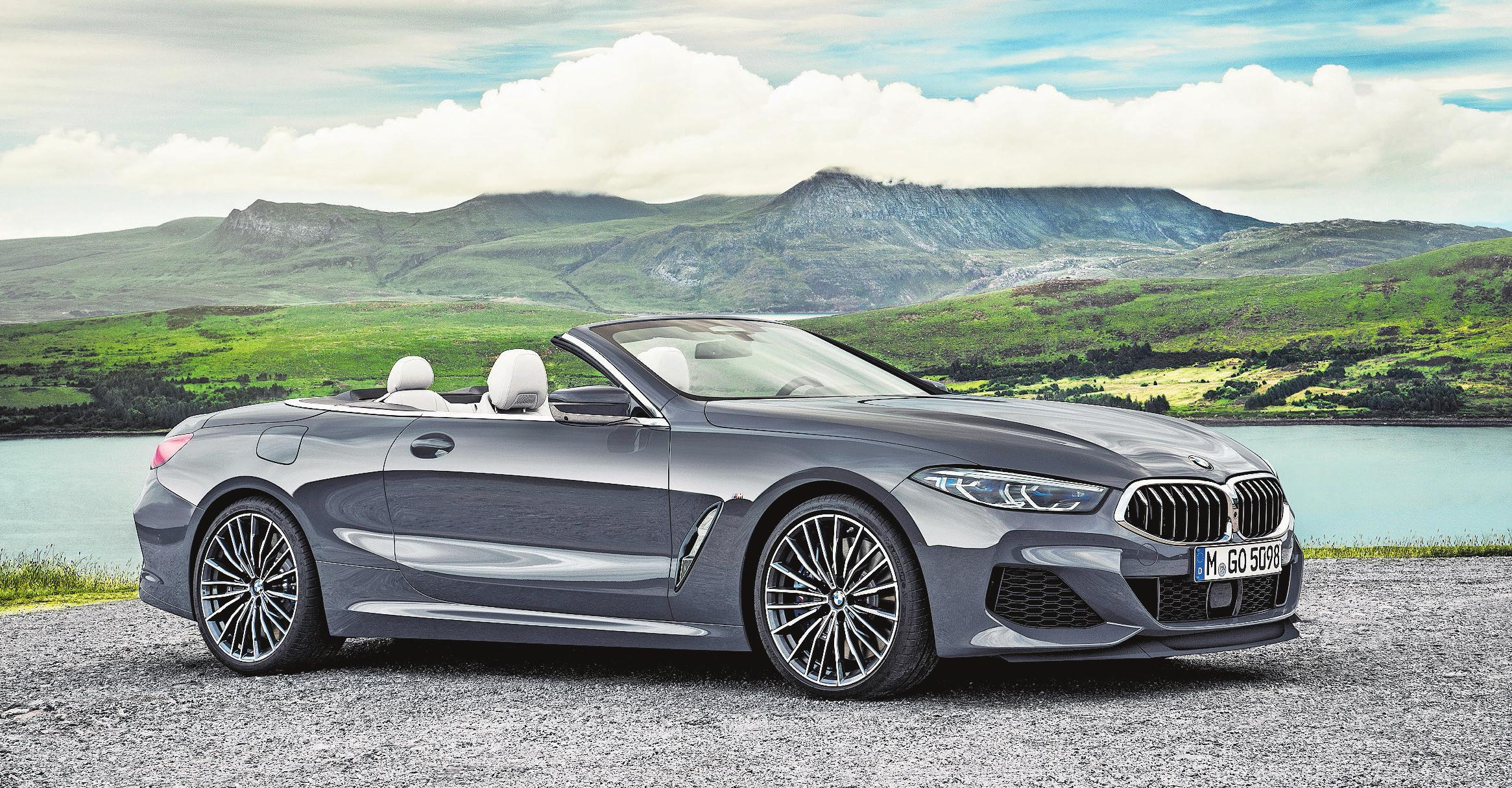Trotz seinen 2,1 Tonnen Gewicht und seiner Grösse fährt sich das BMW-Cabrio erstaunlich leichtfüssig. Bilder: PD